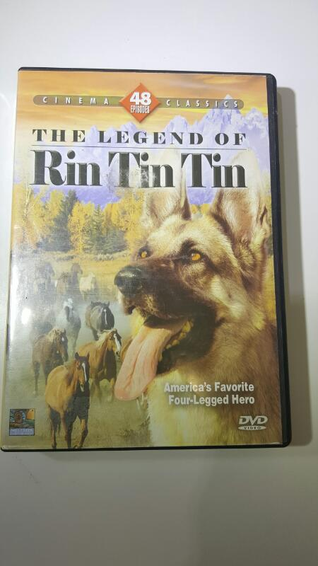 DVD BOX SET  THE LEGEND OF RIN TIN TIN