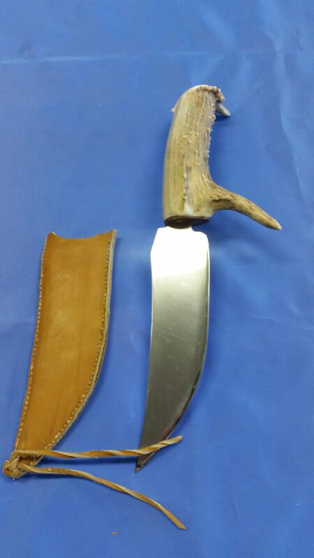 Hunting Knife STAG HANDLED KNIFE