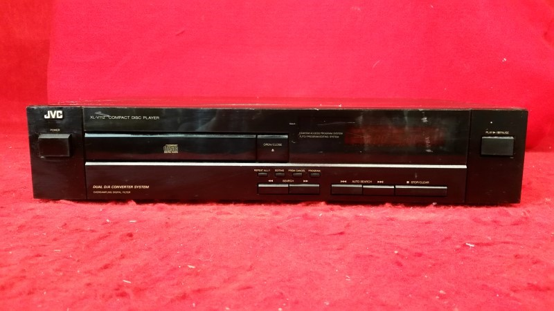JVC Home CD Player - No Remote