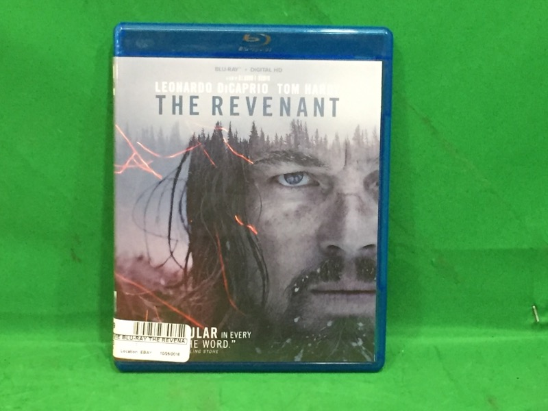 The Revenant (Blu-ray Disc, 2016)