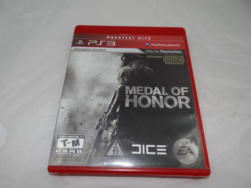 MEDAL OF HONOR - PS3 GREATEST HITS GAME