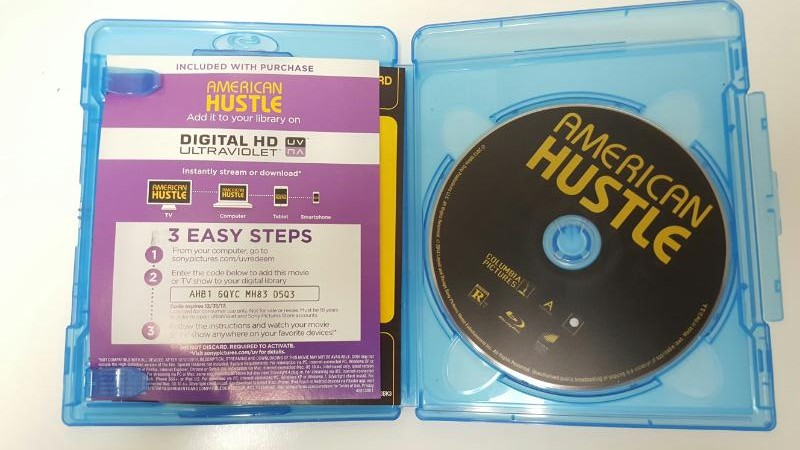 BLU-RAY MOVIE Blu-Ray AMERICAN HUSTLE