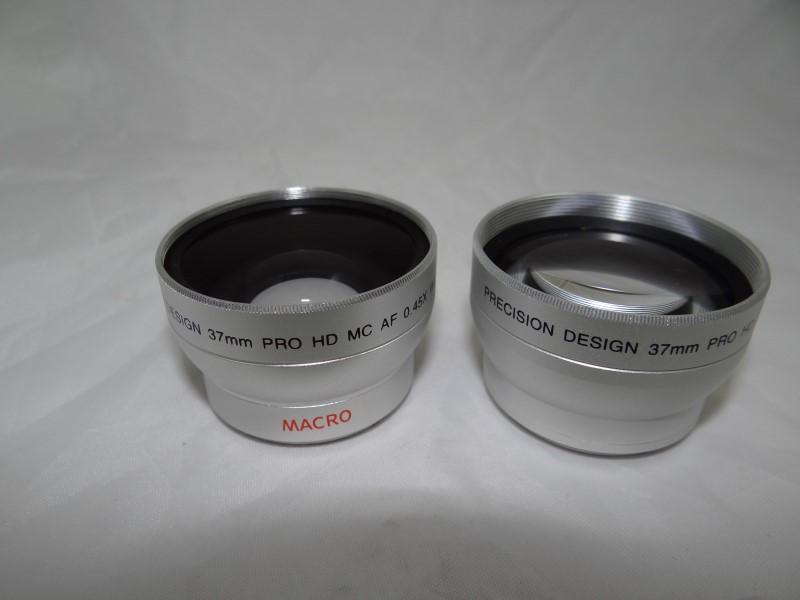PRECISION DESIGN .45x Wide Angle & 2.5x Telephoto Lens Set