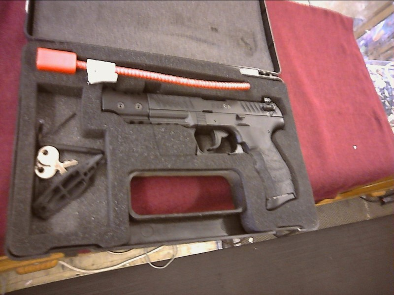 WALTHER ARMS Pistol P22 TARGET USED 22LR