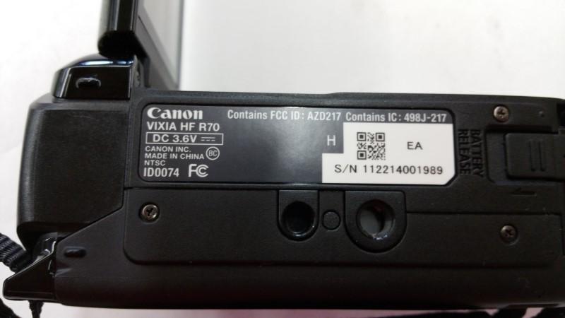 Canon Camcorder Vixia R70