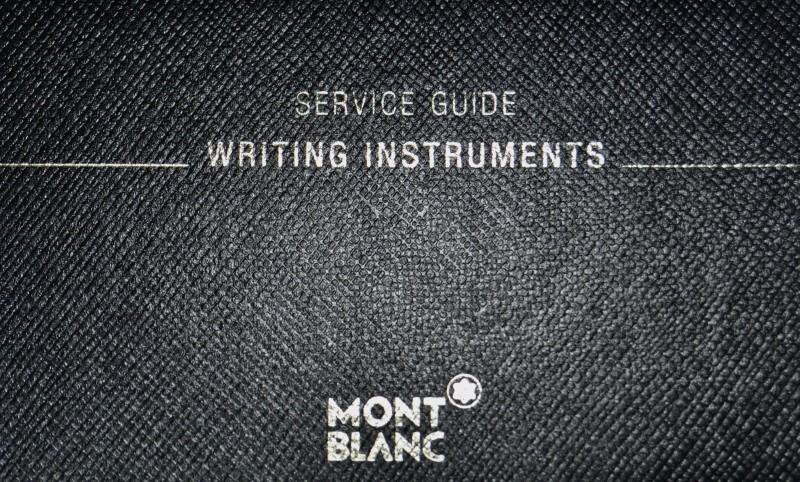 Montblanc Meisterstuck Platinum Line Hommage a W. A. Mozart Ballpoint Small Size