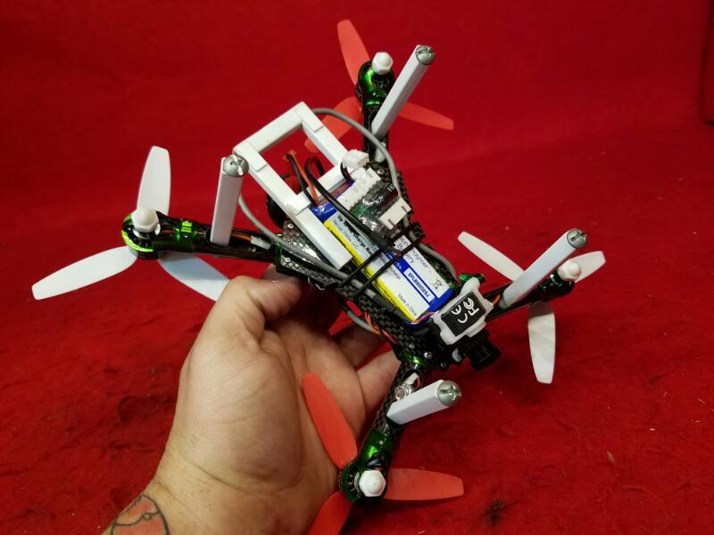 Custom Drone / FatShark Goggles / Spektrum DX6i Radio / Horizon Hobby Drone