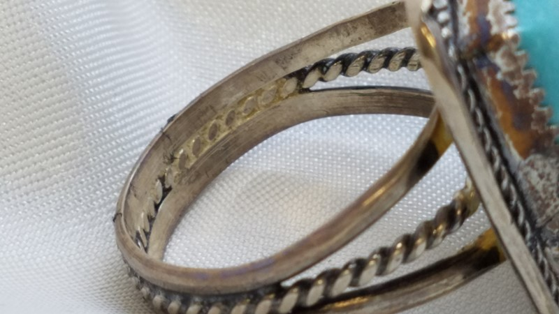 Gent's Silver Ring 925 Silver 9.7g