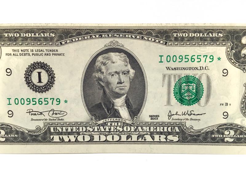 2003 $2 STAR Note - Minneapolis I Serial No. - Nice Bill