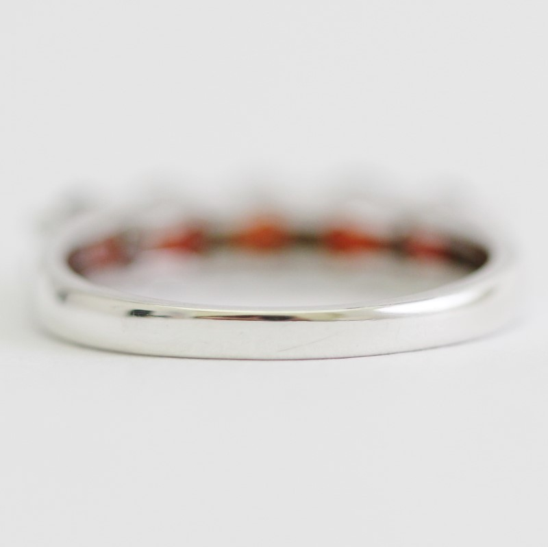 Sterling Silver Round Cut Ring Size 7