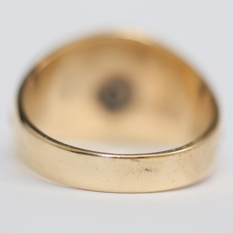 LOYAL ORDER OF MOOSE 10K Yellow Gold Ring Size 14.25