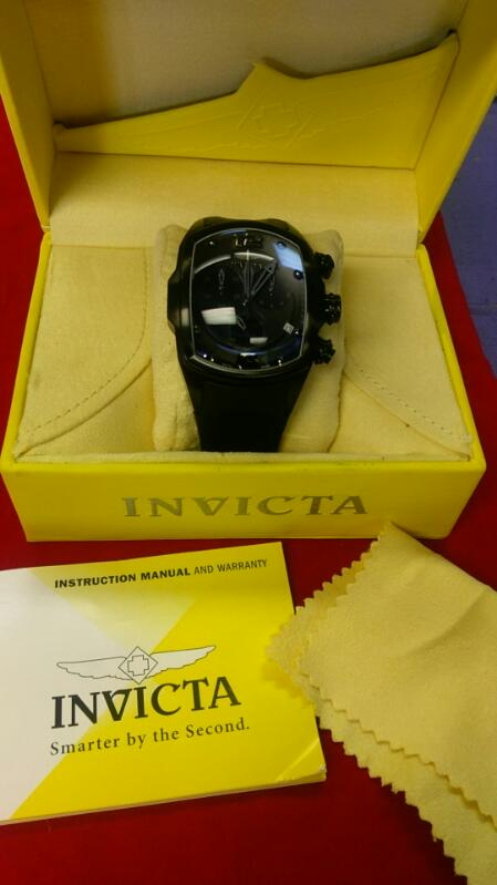 INVICTA GNT'S WRISTWATCH MODEL LUPAH 6724