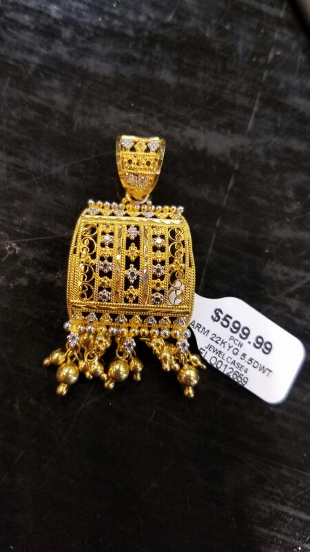 Gold Charm 22K Yellow Gold 5.5dwt