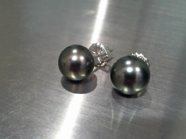 Gold Earrings 14K White Gold 3.4g
