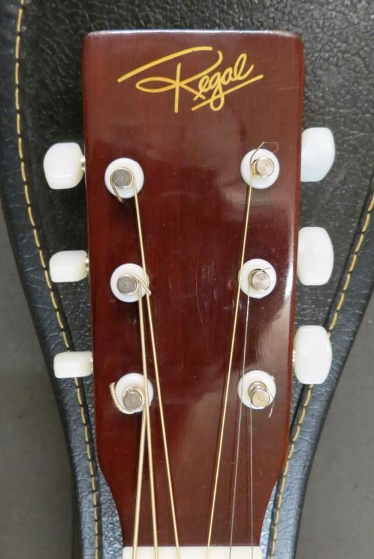 Vintage REGAL Parlor Size RG 50W Acoustic Guitar