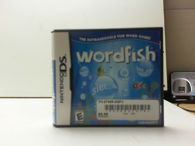 NINTENDO Nintendo DS Game WORDFISH