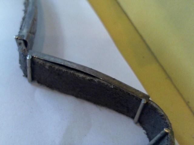 Silver Belt Buckle 925 Silver 39g