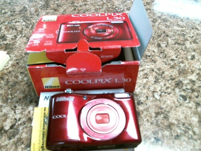 NIKON Digital Camera COOLPIX L30