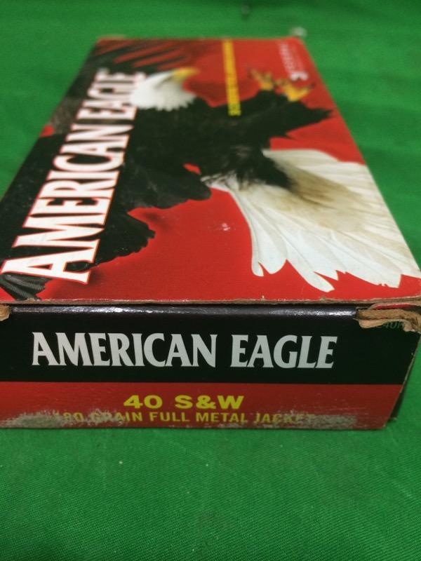 FEDERAL AMMUNITION Ammunition AMERICAN EAGLE 40SW