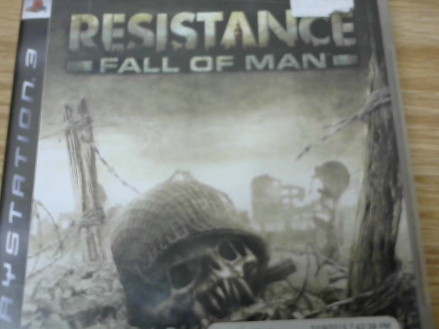 SONY Sony PlayStation 3 Game RESISTANCE: FALL OF MAN