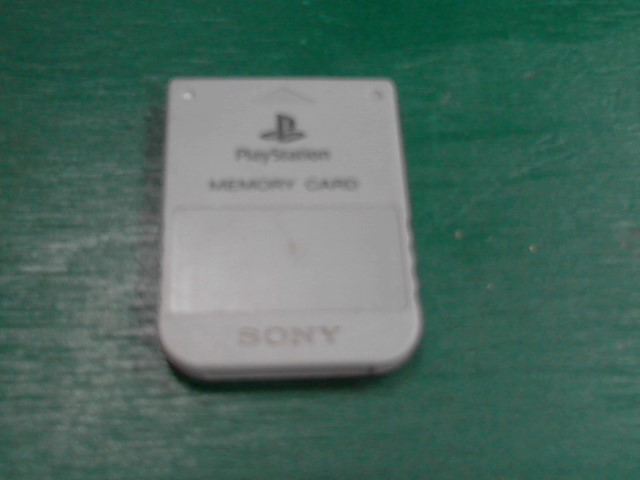SONY Guide/Material PLAYSTATION ONE MEMORY CARD