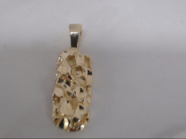 Gold Pendant 14K Yellow Gold 2.8g