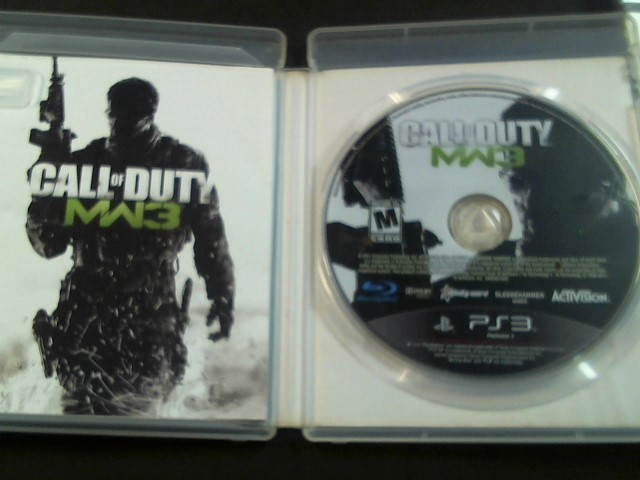 ACTIVISION Sony PlayStation 3 Game CALL OF DUTY MW3 PS3