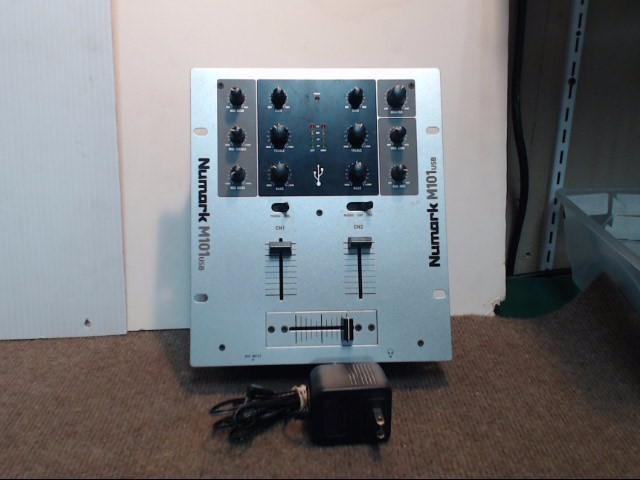 NUMARK ELECTRONICS Home Audio Parts & Accessory M101 USB