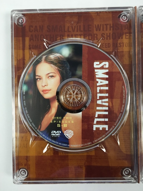 Smallville: The Complete First Season 1 (DVD, 2003, 6 Disc Set)