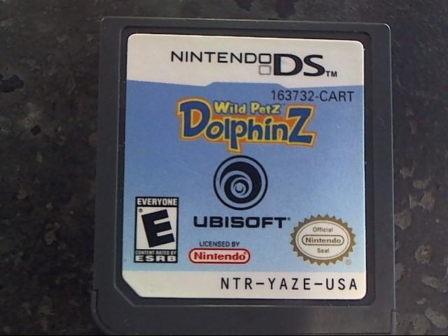 NINTENDO Nintendo DS Game WILD PETZ DOLPHINZ
