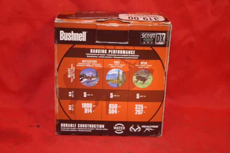 Bushnell Scout DX 1000 ARC 6 x 21 Laser Rangefinder - Camo