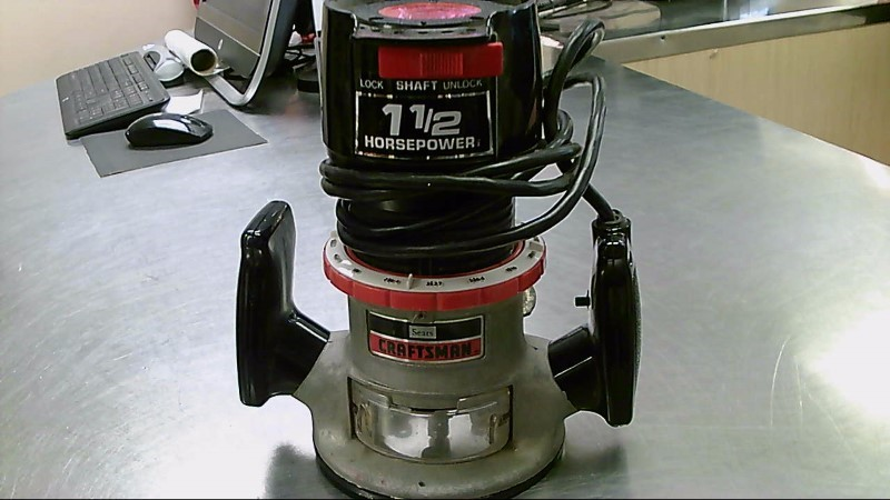 CRAFTSMAN ROUTER 8A 1.5HP 315.17492