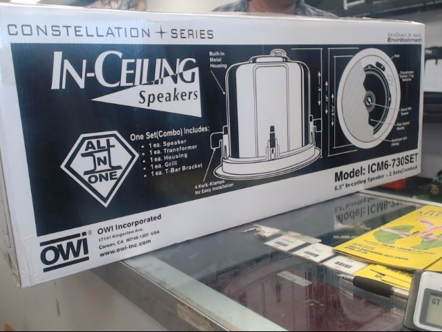 Speakers ICM6-730SET