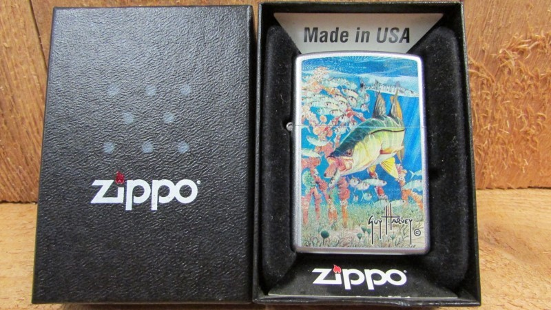 ZIPPO Men's Accessory LIGHTER - ARTWORK BY GUY HARVEY
