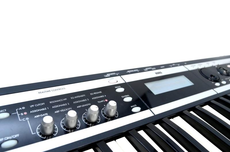 Korg X50 61-Key Music Synthesizer Keyboard USB-MIDI w/ Power Cord>