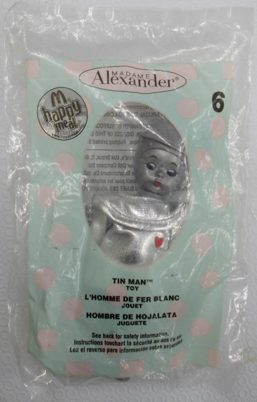 MCDONALD'S 2007 WIZARD OF OZ HAPPY MEAL TOYS 1-8