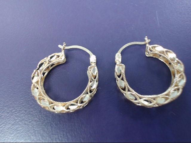 Gold Earrings 14K Yellow Gold 3.21g