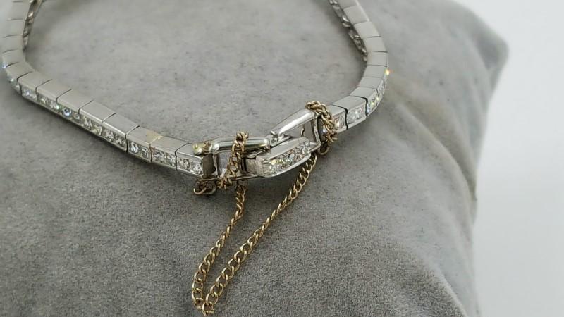 Ladies Vintage Hamilton Platinum & Diamond Cluster Watch *As-Is*
