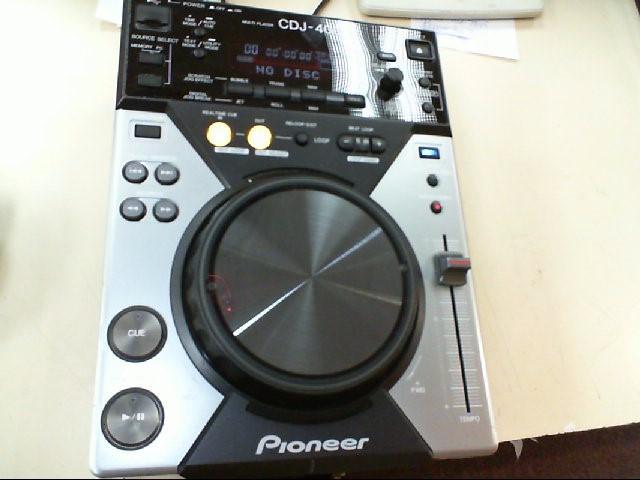 Pioneer CDJ-400 Digital MP3 CD USB Turntable