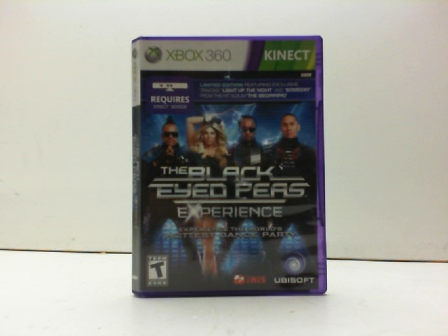 MICROSOFT Microsoft XBOX 360 Game THE BLACK EYED PEAS EXPERIENCE
