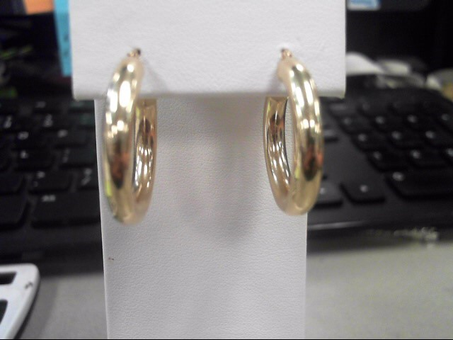 Gold Earrings 14K Yellow Gold 2.35g