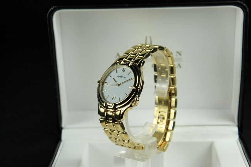 Bulova Accutron T4 Gold Plated Wristwatch