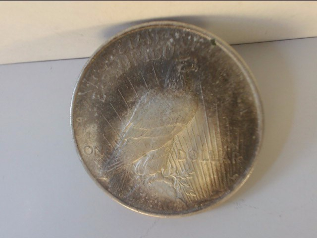 1922 Peace Dollar $1 Coin NO MINT MARK 90% Silver (Natural Patina)
