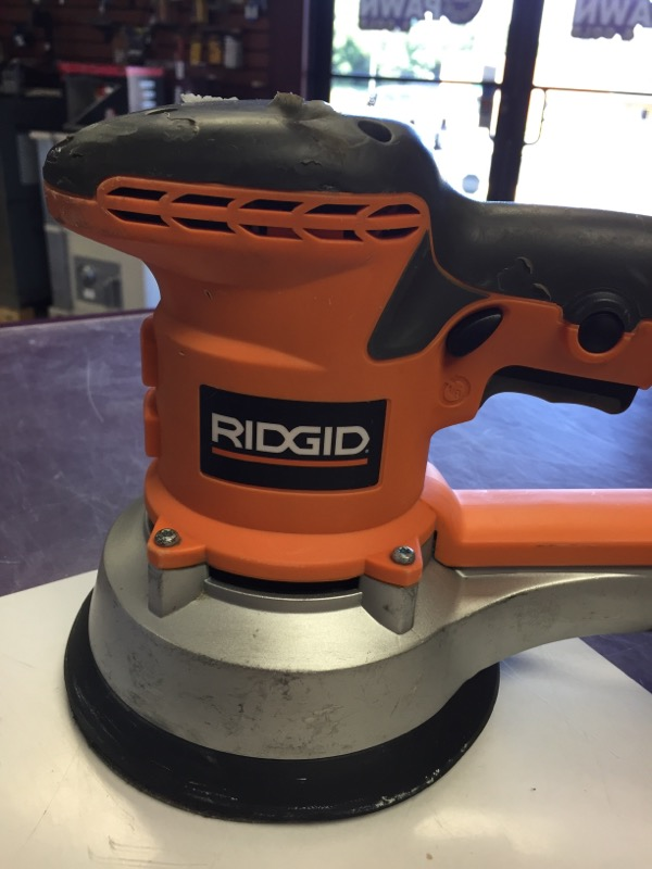 "Ridgid - Variable Speed 6"" Dual Random Orbit Sander - R2611"