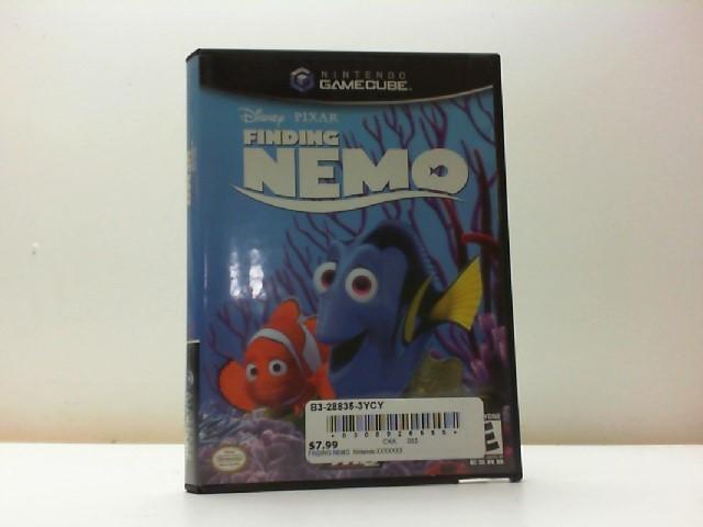 NINTENDO Nintendo GameCube Game FINDING NEMO GAMECUBE