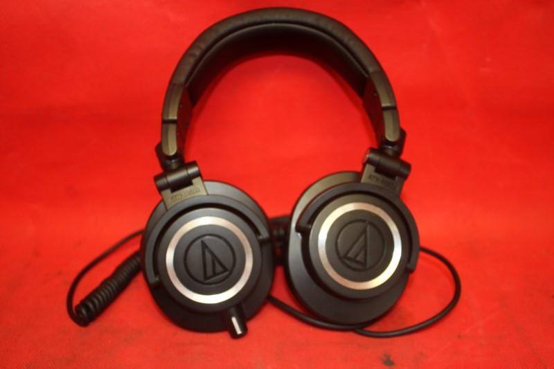 Audio-Technica ATH-M50 Professional Studio Headphones Straight Cable
