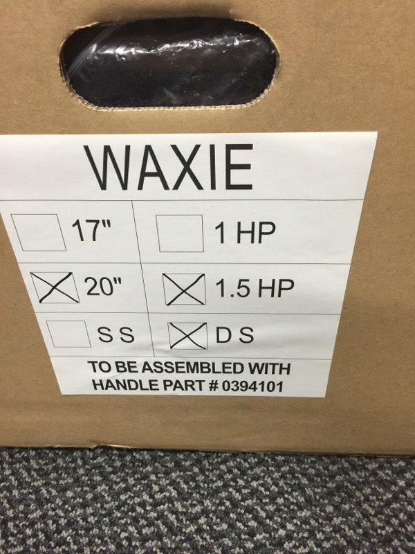 WAXIE Buffer 20, 1500 rpm