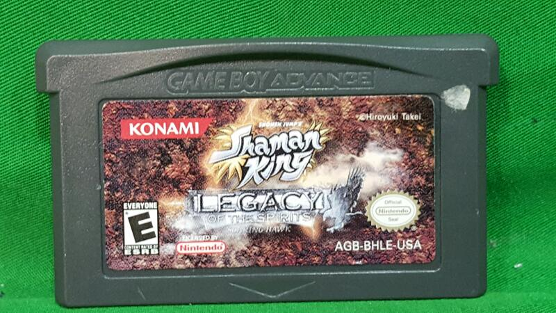 Shaman King: Legacy of Spirits -- Soaring Hawk - Game Boy Advance GBA Game