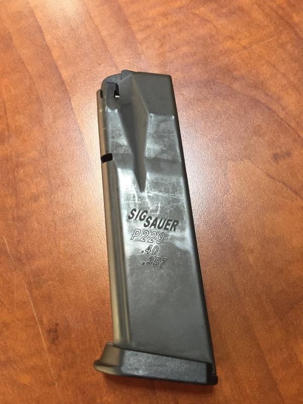 SIG SAUER Accessories P229 MAGAZINE .40, .357
