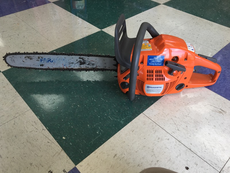 "HUSQVARNA 455 RANCHER 55.5 CC CHAINSAW - 20"" BAR (STORE PICKUP ONLY)"